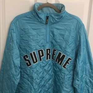 Supreme New York Quilted Pullover Jacket